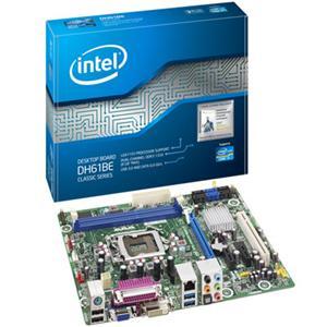 Intel Classic DH61BE Desktop Motherboard - Intel H61 Express Chipset - Socket H2 LGA-1155